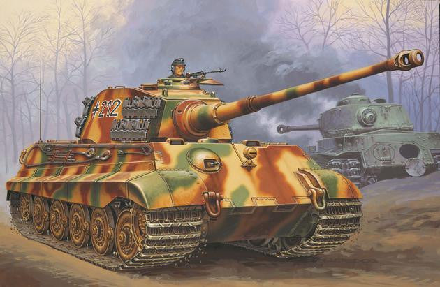 Revell Germany Military 1/72 Tiger II Ausf B Heavy Tank Kit
