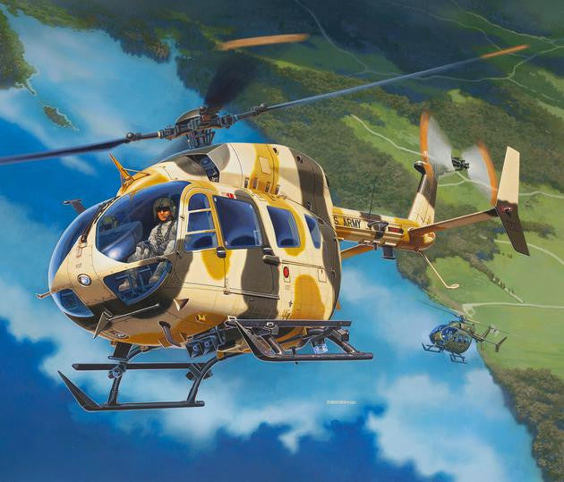 Revell Germany Aircraft 1/32 UH72A Lakota Helicopter Kit