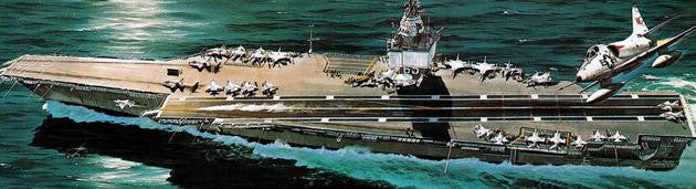 Revell Germany Ship Models 1/720 USS Enterprise Nuclear Powered Aircraft Carrier Kit