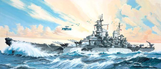 Revell Germany Ship Models 1/535 USS Missouri Battleship Kit