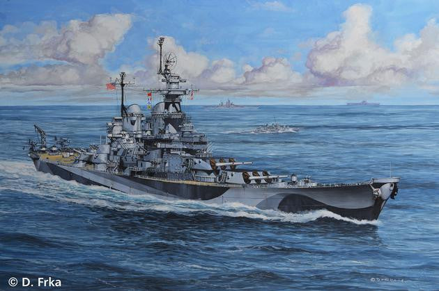 Revell Germany Ship Models 1/1200 USS Missouri Battleship WWII Kit