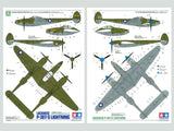 Tamiya Aircraft 1/48 Scale Lockheed® P-38 F/G Lightning® Kit