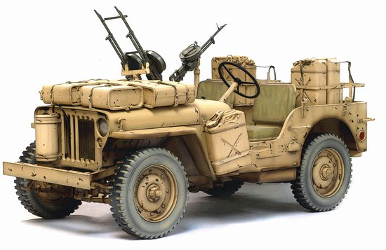 Dragon Military Models 1/6 SAS 4x4 Desert Raider Jeep Kit
