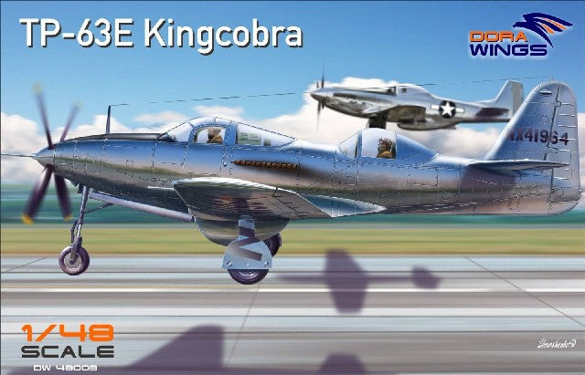 Dora Wings 1/48 TP63E King Cobra Two-Seater Aircraft Kit