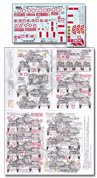 Echelon Decals 1/35 British Vickers Mk VI A/B Light Tank Middle East 1940-41 Pt3