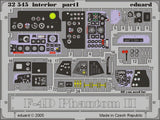Eduard Details 1/32 Aircraft- F4D Interior for TAM (Painted)
