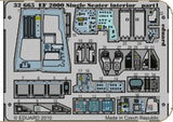 Eduard Details 1/32 Aircraft- EF2000 Single Seater Interior for RVL (Painted Self Adhesive)