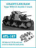 Friulmodel Military 1/35 Grant/Lee/Ram Type WE210 Double I Track Set (168 Links)