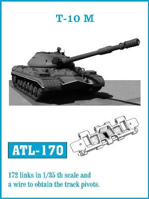 Friulmodel Military 1/35 T10M Track Set (172 Links)