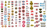 Gofer Decals 1/24-1/25 Manufacturer Sponsor Logos #1