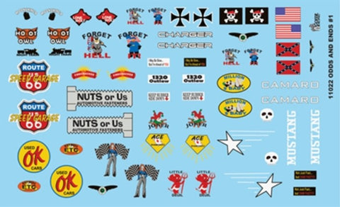 Gofer Decals 1/24-1/25 Odds & Ends Logos