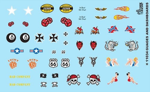 Gofer Decals 1/24-1/25 Rat Rod Graphics