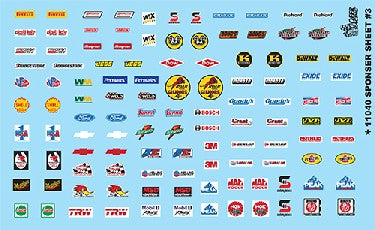 Gofer Decals 1/24-1/25 Goodyear Tire & Fender Logos