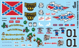 Gofer Decals 1/24-1/25 Bubba's Favorites - Southern Classic Logos
