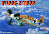 Hobby Boss Aircraft 1/72 Bf-109G-2 TROPICAL KIT