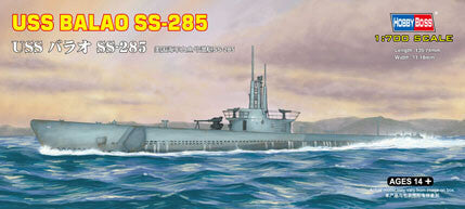 Hobby Boss Model Ships 1/700 USS BALAO SS-285 Kit