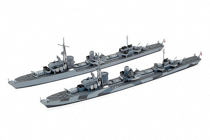 Tamiya Model Ships 1/700 German Z Class (Z37-39) Destroyer Project Barbara Waterline (2) Kits