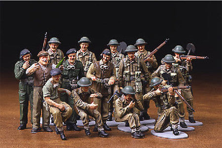 Tamiya Military 1/48 WWII British Infantry Kit