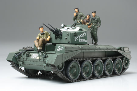 Tamiya Military 1/48 British Crusader Mk III AA Tank Kit