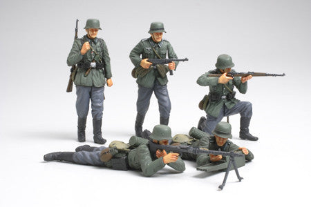 Tamiya Military 1/35 German Infantry French Campaign (5 Figures) Kit