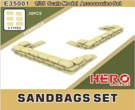 Hero Hobby 1/35 Sandbags Kit