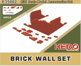 Hero Hobby 1/35 Brick Wall Kit