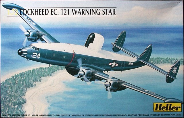 Heller Aircraft 1/72 EC121 Warning Star Aircraft Kit