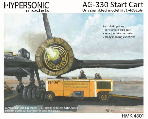 Hypersonic 1/48 AG330 Early/Late Start Cart Used By The USAF To Start SR71 Engines Kit