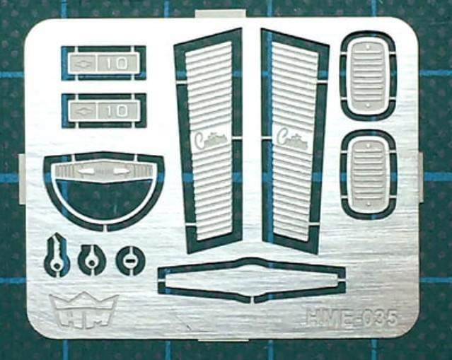 Highlight Model Studio 1/24-1/25 1966 Chevy Pickup Detail Parts Set for RMX