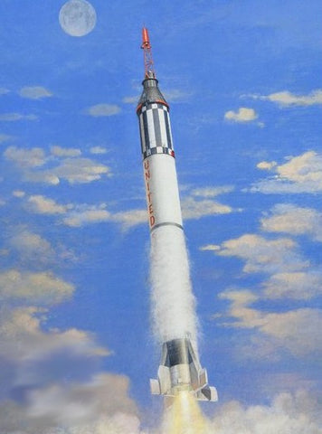 Horizon Models 1/72 Mercury Spacecraft w/Redstone Booster Kit