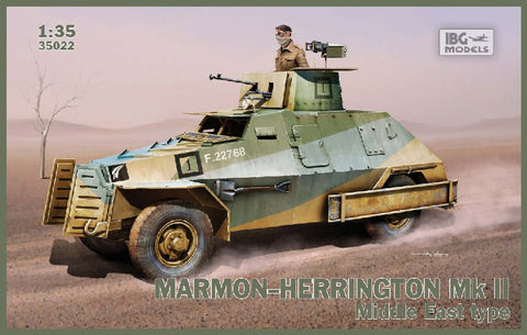 IBG Military Models 1/35 Marmon-Herrington Mk II Middle East Type Vehicle Kit