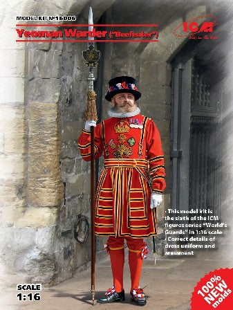 ICM Military Models 1/16 Yeoman Warder (Beefeater) Guard Kit