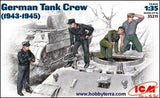 ICM Military Models 1/35 WWII German Tank Crew (4) Kit