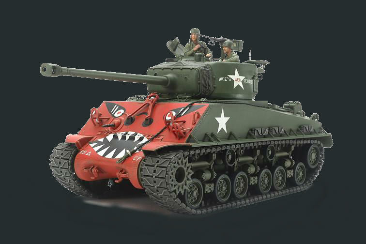 "Tamiya Military 1/35 U S  Medium Tank M4A3E8 Sherman ""Easy Eight"" Korean  War Kit"