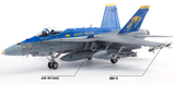 Academy Aircraft 1/72 USN F/A-18C VFA-192 Golden Dragons Kit
