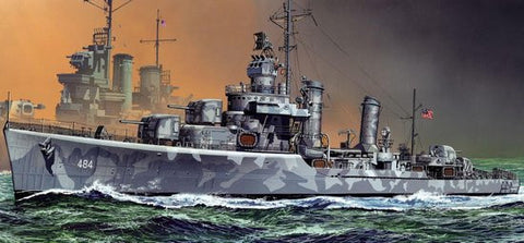 Dragon Model Ships 1/350 USS Buchanan DDG484 Gleaves Class Destroyer 1942 Kit