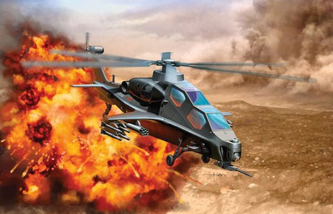 Dragon Models Aircraft 1/144 PLA WZ10 Attack Helicopter Kit