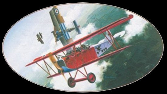 Dragon Models Aircraft 1/48 Knights of the Sky: Fokker D VII Biplane Kit