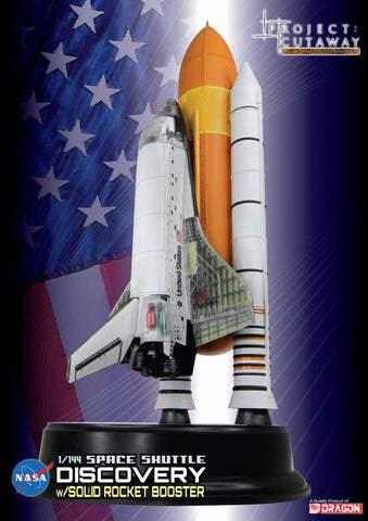 Dragon Space 	1/144 Visible Space Shuttle Discovery Cutaway w/Solid Rocket Booster