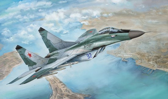 Lion Roar Aircraft 1/48 MiG29 Late Type 9-12 Fulcrum Fighter (Plastic Kit)