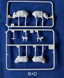 Riich Military 1/35 Livestock Set #1 Kit