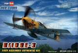 Hobby Boss Aircraft 1/72 Bf-109E-3 Messerchmitt Kit