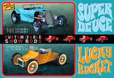 Lindberg Model Cars 1/32 Customizable Street Rod (2) Kit