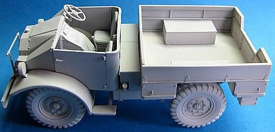 LZ Models 1/35 WWII CMP Ford F15 Military Truck Kit (Resin)