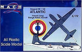 Mach-2 Aircraft 1/72 Breguet BR1150 Atlantic French Long Range Patrol Aircraft Kit