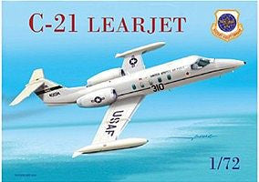 Mach-2 Aircraft 1/72 C21 Learjet USAF Aircraft Kit