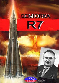 Mach 2 Space 1/72 Semiorka R7 Russian Intercontinental Ballistic Missile Kit