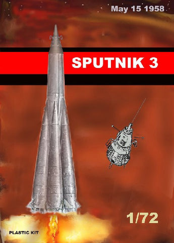 Mach 2 Space 1/72 Sputnik 3 Soviet Satellite Kit