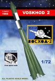 Mach 2 Space 1/72 Voskhod 2 Soviet Manned Rocket Kit