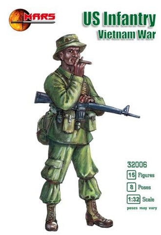 Mars 1/32 US Infantry Vietnam War (18) Kit